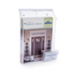 Outdoor Literature Dispenser With Business Card Pocket