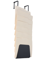 Cubicle Hanging File Holder, Legal or Letter Size