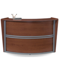 Wood Reception Desk for Lobbies