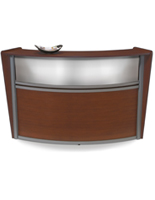 "72""w Wooden Reception Desk"
