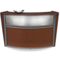 Cherry Wooden Reception Desk