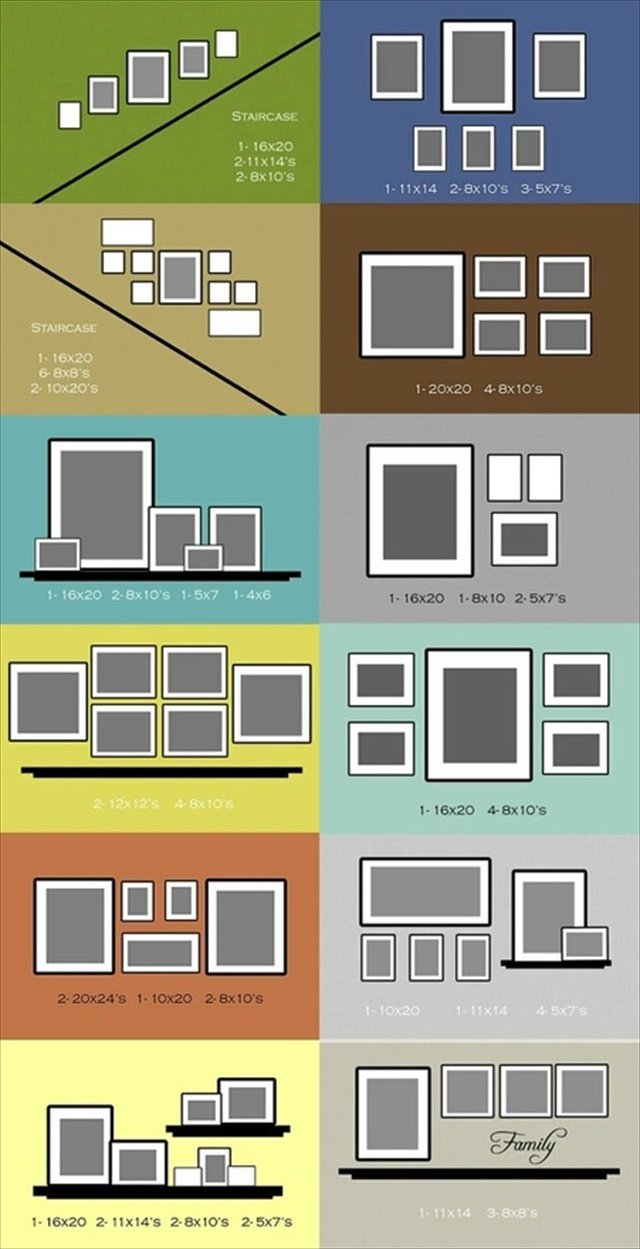 simple steps to create custom picture frame grouping