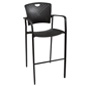 "Stackable Stool Chair, 45"" Tall"