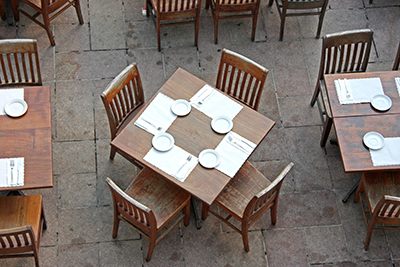 Restaurant Patio Seating Plan