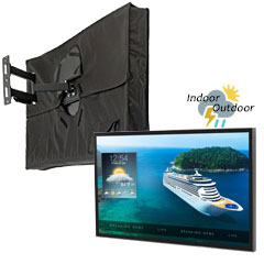 Digital signage, screens, and accessories for outdoor applications