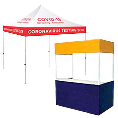 Outdoor popup event tents