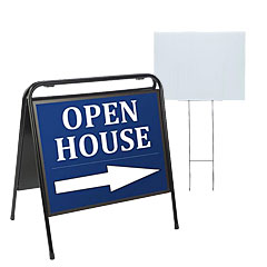 Real estate signs and frames