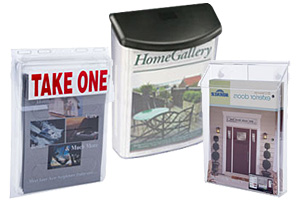 Outdoor Flyer and Magazine Pockets