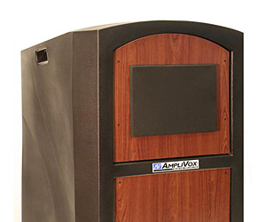 Exterior-Rated Lecterns