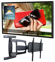 outdoor TV mounts and enclosures