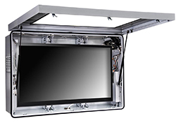 outdoor enclosure for TVs