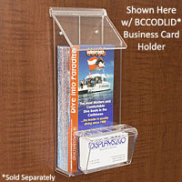 Outdoor brochure holders weatherproof literature boxes outside brochure box reheart Gallery