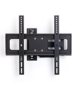 Outdoor TV wall bracket with 90 degree swiveling