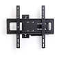 Outdoor TV wall bracket with full motion adjustability