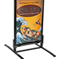 "Springer Sidewalk Sign Holder for 24"" x 36"" Posters"