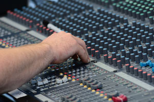 Audio Mixing Board for PA System