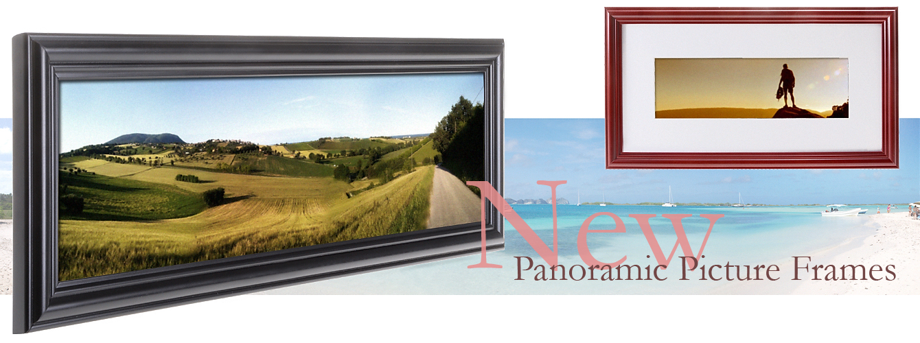 panoramic photo displays