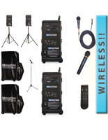 Wireless Portable Audio Package w' Wireless Speaker