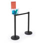 8.5 x 19.5 Ballot Box Stanchion Topper