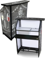 Custom Compact Portable Bar