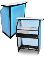 "Compact LED 40"" Portable Bar"