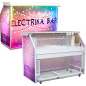 "Trade Show Custom Graphic LED 65"" Portable Bar"