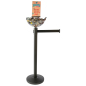 Retail Black Stanchion & Post with Bowl