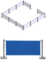Blue Cafe Barrier System