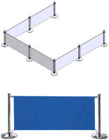 Blue Barrier System