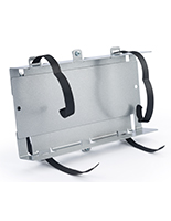 Adjustable PPE box holder for PCSG series comes fully assembled