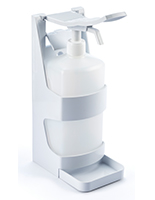 1000ml sanitizer bracket dispenser for PCSG series is suitable for liquid and gel