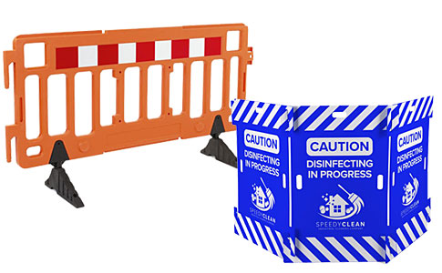 Pedestrian barriers for crowd control