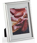 "3.5"" x 5"" Silver Metal Photo Frames"