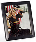 "8"" x 10"" Metal Photo Frames with Wide Profile"