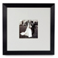wood modern print displays ideal for a wedding print or craft picture