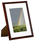 "Wood Photo Frame Comes in 4"" x 6"" Size"