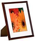 "8"" x 10"" Wood Photo Frame with Thin Profile"