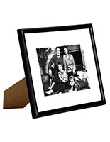 "8"" x 10"" Black Picture Frames in Wood"