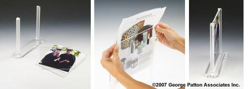 8 X 10 Clear Acrylic Frame For Awards Achievements