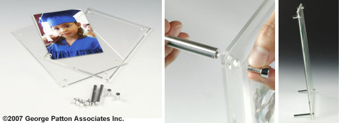 Clear Photo Holder