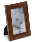 Walnut Veneer Picture Frame Tabletop