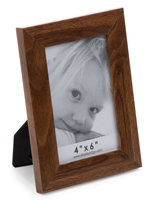 Wall Mount Walnut Veneer Picture Frame
