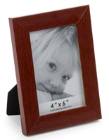 Tabletop Redwood Picture Frame