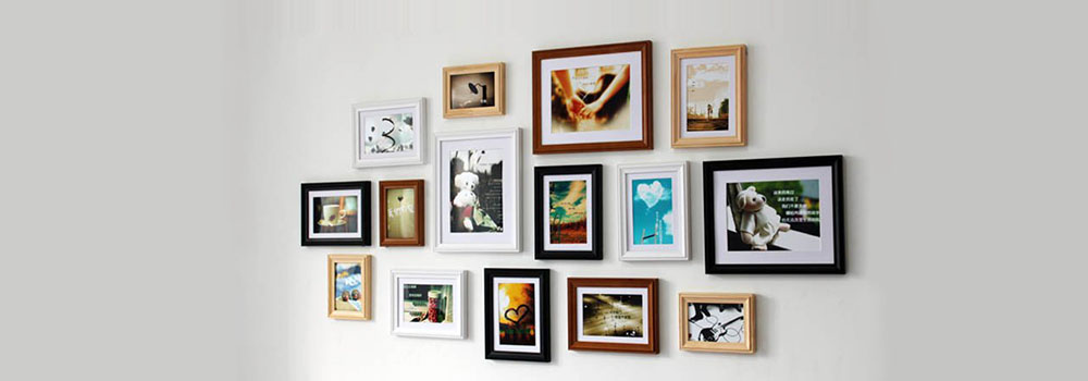 Simple steps to create custom picture frame grouping for Hanging frames on walls