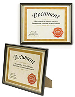 Some of these quality wholesale  picture frames include an accent mat.