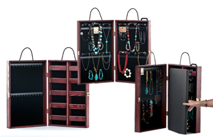 Portable Jewelry Display Case