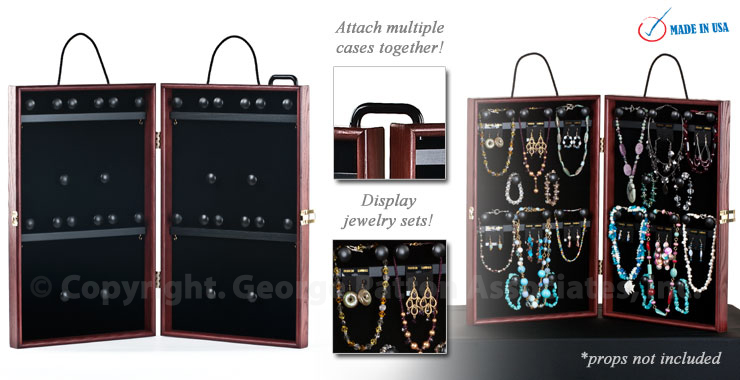Travel Jewelry Display Case