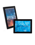 Modern 8.5 x 11 Illuminated Photo Frame