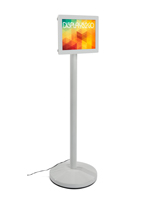 8.5 x 11 Light Box Stand for Horizontal or Vertical Graphics
