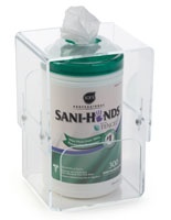 Sanitizing Wipe Canister Holder